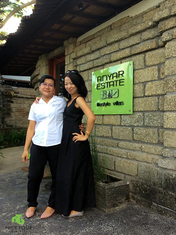 anyar estate with sales-manager manik