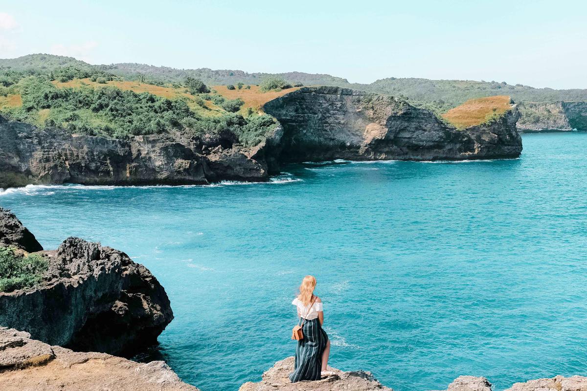 Angel Billabong Beach Penida Island