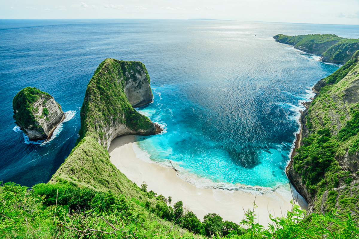 Kelingking Secret Point at Penida Island
