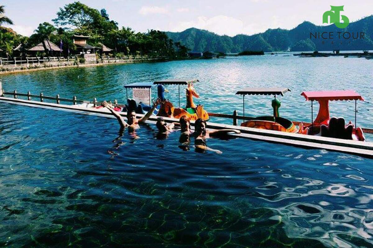 Batur natural hot spring pool