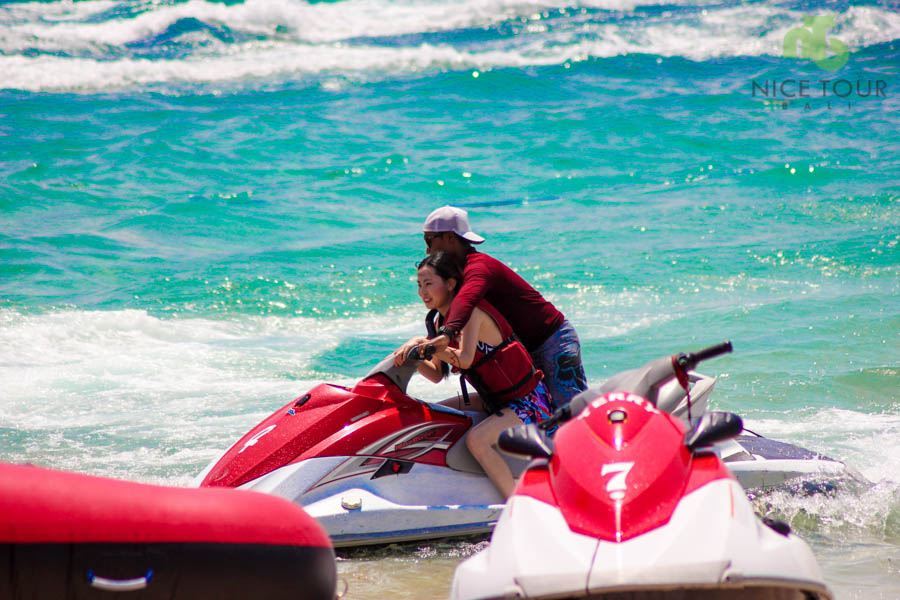 Jet Ski at Tanjung Benoa Beach