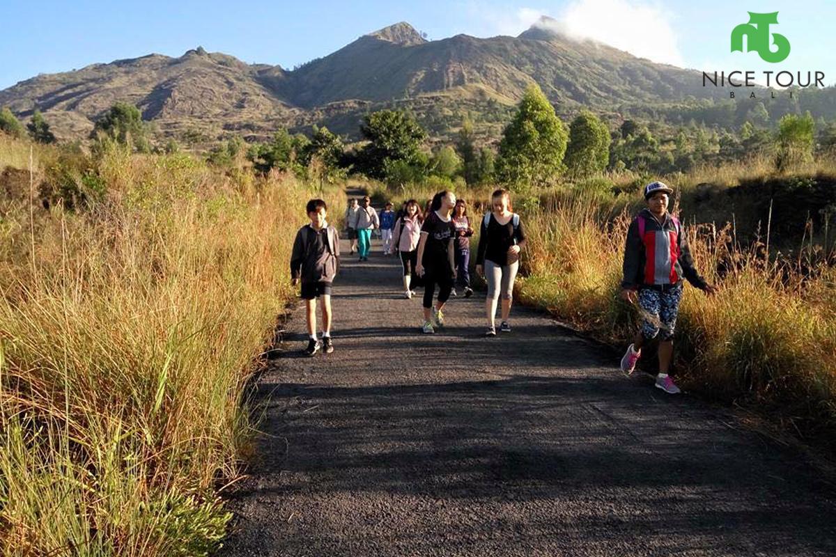Mount Batur Finish Point Trek