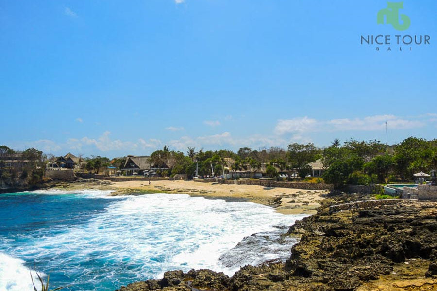 Dream Beach at Nusa Lembongan