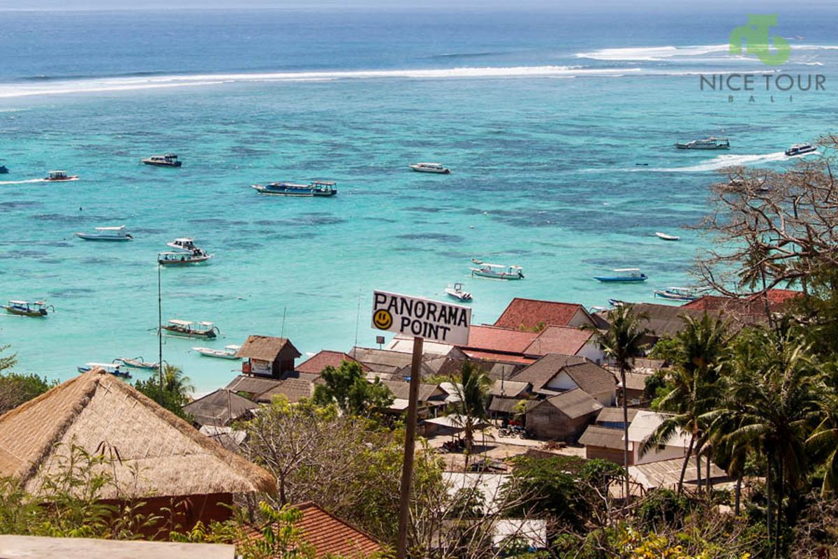 Panorama Point at Lembongan
