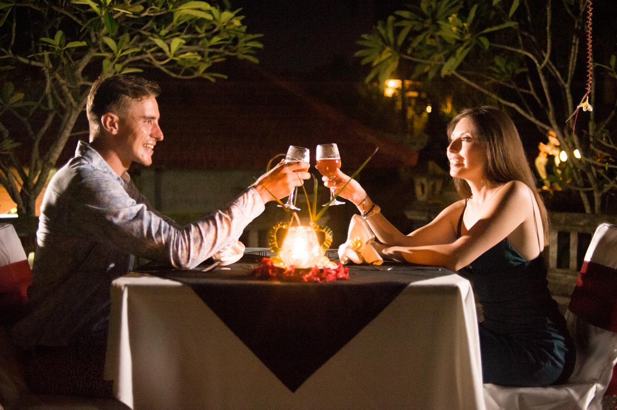 Romantic Dinner at Santi Mandala Luxury Villa
