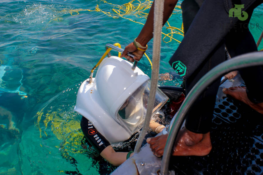 Seawalker Tour at Tanjung Benoa Beach
