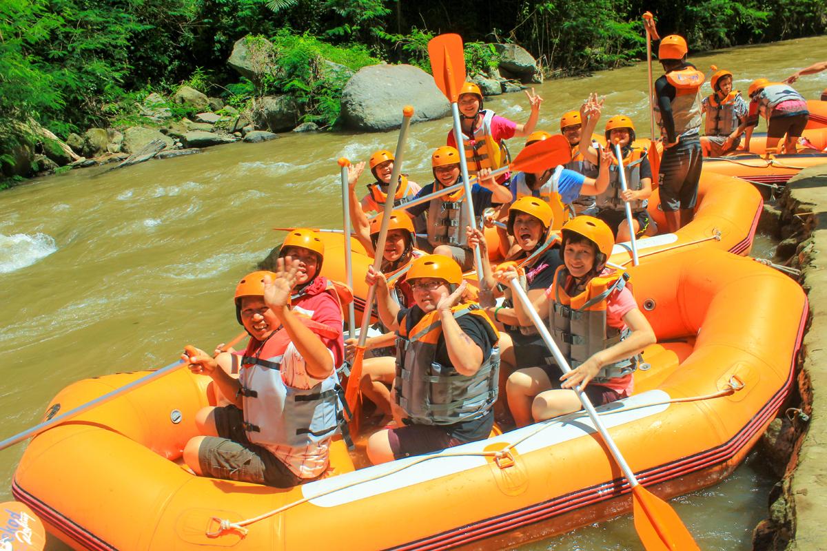 Ayung River White Water Rafting