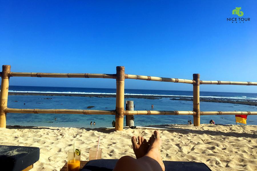 1 Day Tour Bali at Karma Beach