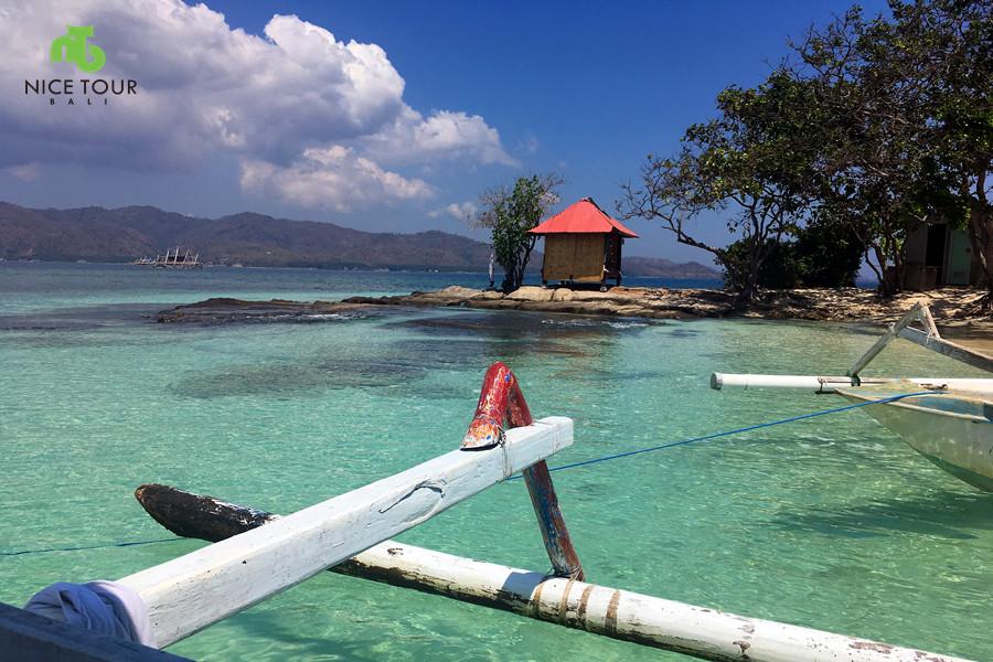 Honeymoon Island in Lombok