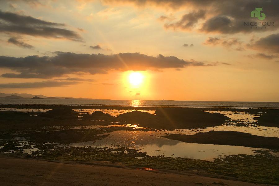 Sunset at Gili Nanggu Lombok