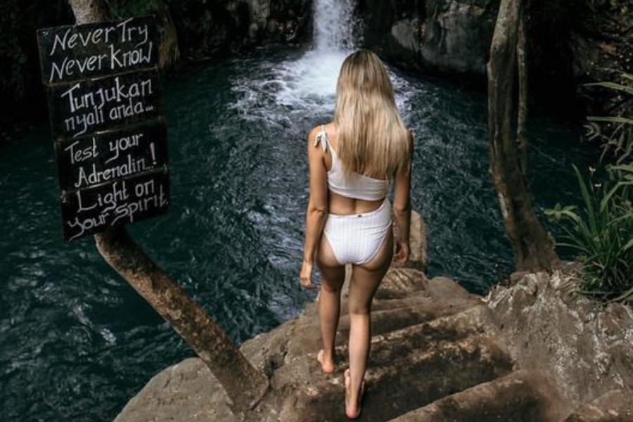 Aling Aling Waterfall Tour   Bali Waterfall Tour – Cliffs Jumps & Water slides !
